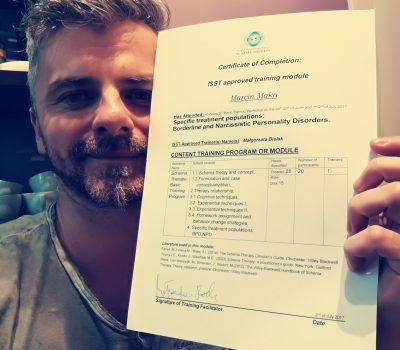 Letnia Szkoła Terapii Schematu (zab. borderline i narcystyczne) – Marcin Mąka