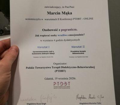Osobowość z pogranicza – Marcin Mąka